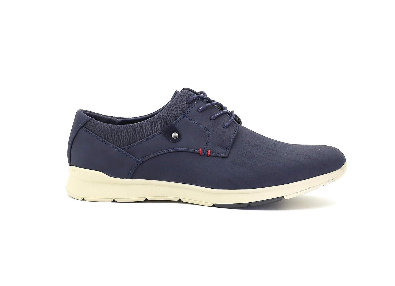 Zapato de Vestir Casual Sport con Cordones c/ómodos para Diario y Trabajo Punta Redonda