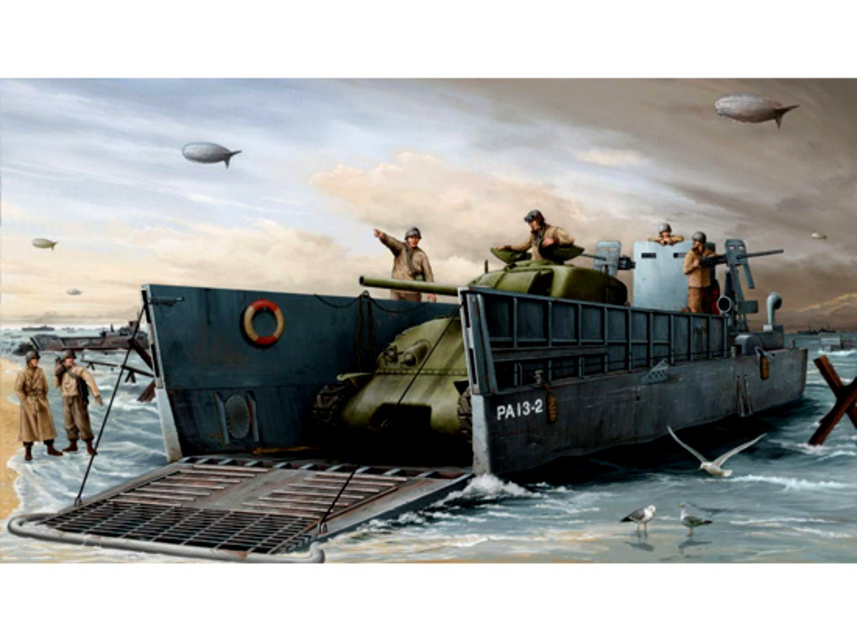 US Navy Landing Craft 3 Trumpeter 1//35 WWII LCM