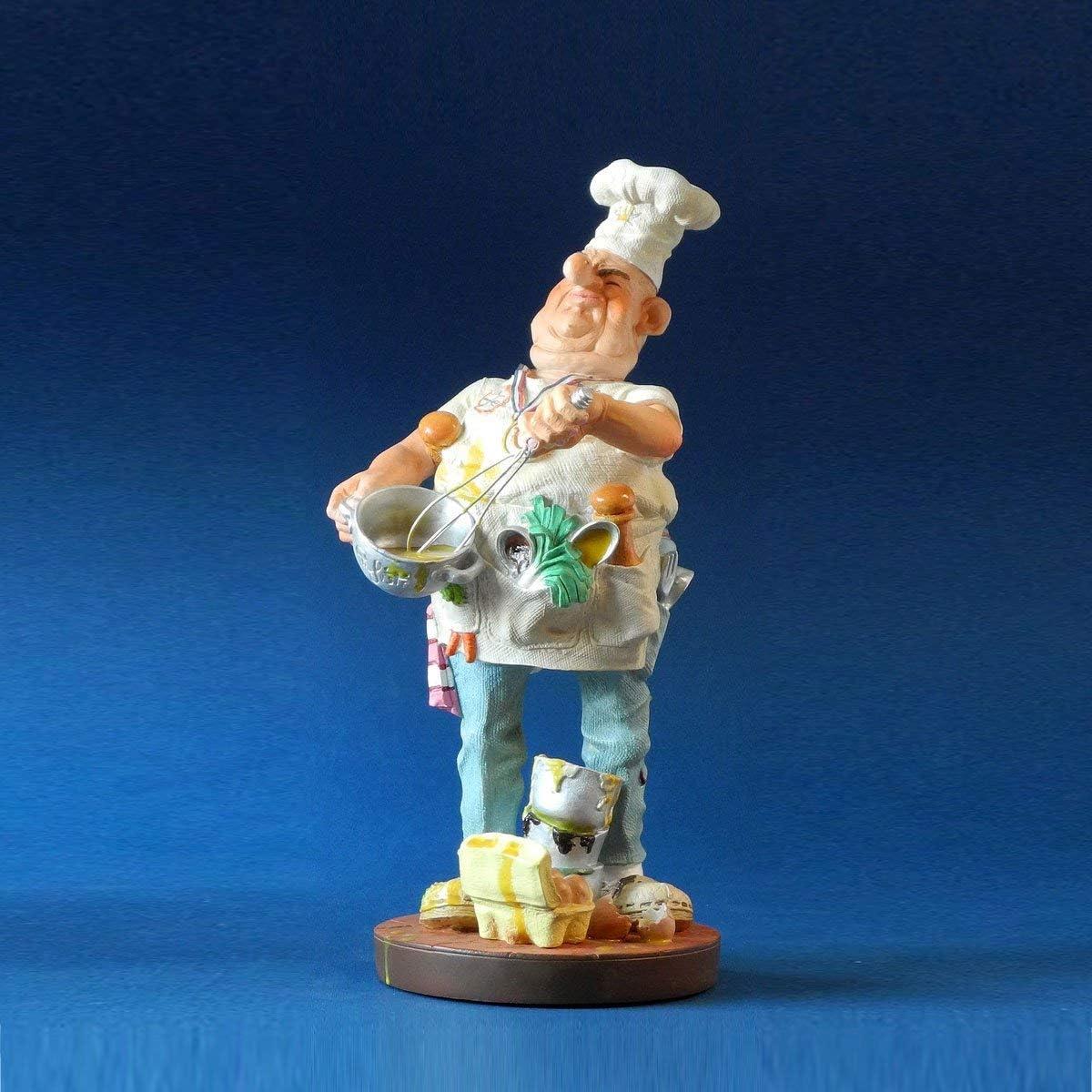 #32 Le cuisinier - H19,5cm Profisti S Sculptures de la Profession // Metier