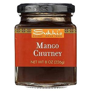 Sukhi's Gourmet Indian Food Mango Chutney, 8-ounce Jars (Pack of 6)