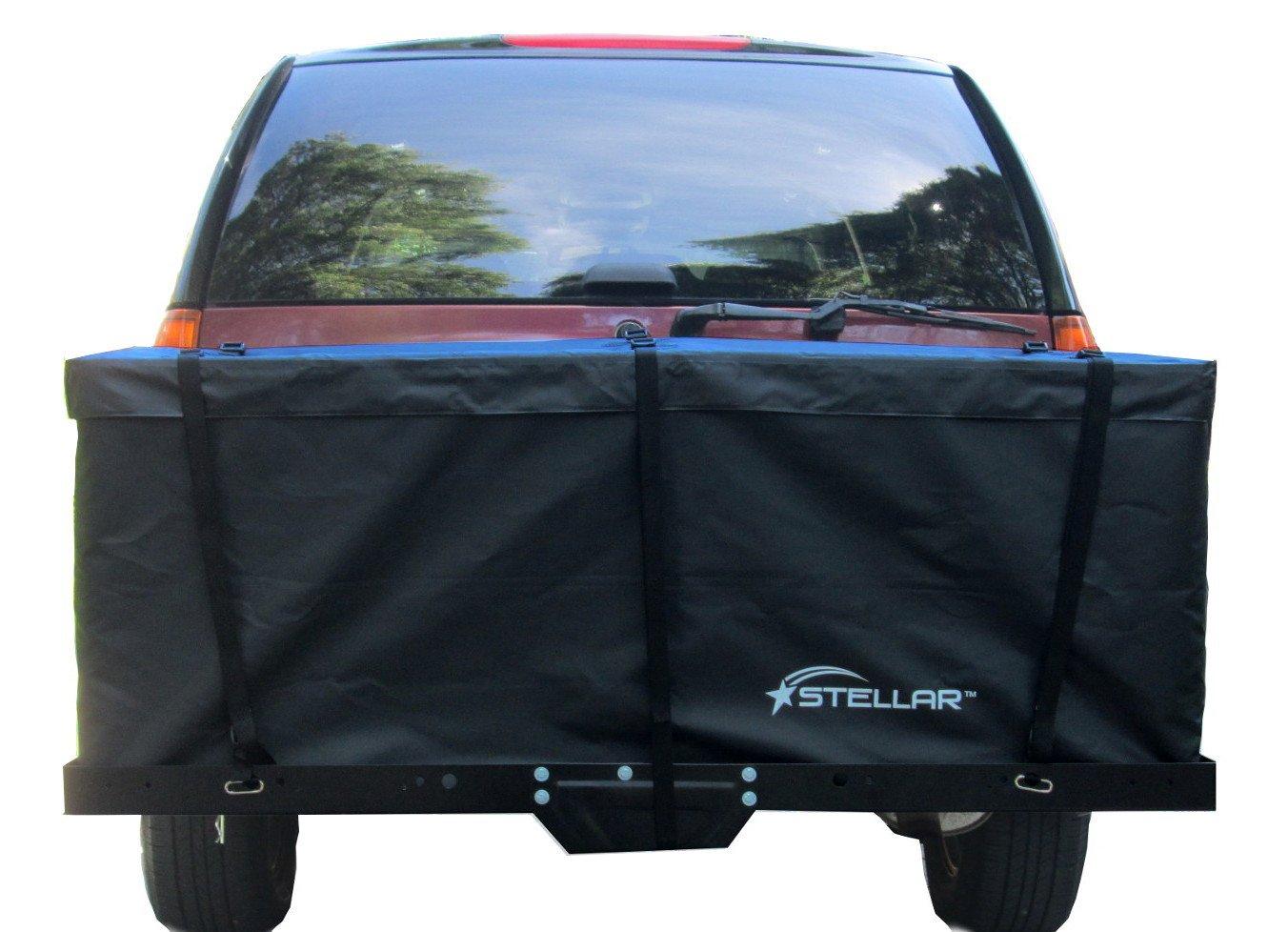 Stellar 10604 Large Waterproof Cargo Bag for Hitch Baskets- 59'' x 18.5'' x 24'' (15 Cu Ft)