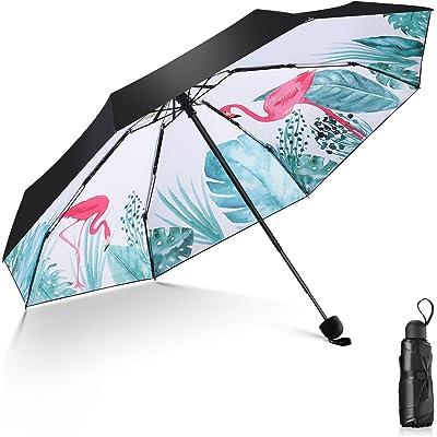 Relohas 晴雨兼用 折りたたみ日傘