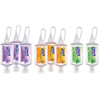 PURELL Advanced Hand Sanitizer Gel Infused with Essential Oils, Scented Variety Pack, 1 fl oz Travel Size Flip Cap…