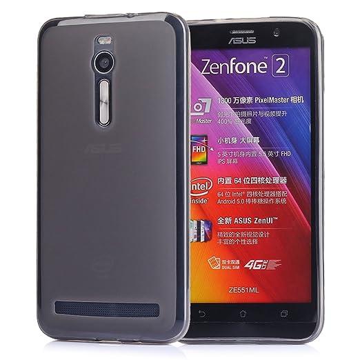457 opinioni per Tinxi 4250851266872 Custodia in Silicone TPU per Asus Zenfone 2 da 5.5 pollici,