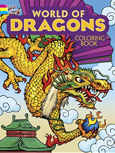 - World Of Dragons Coloring Book (Dover Coloring Books): Roytman, Arkady:  9780486494456: Amazon.com: Books