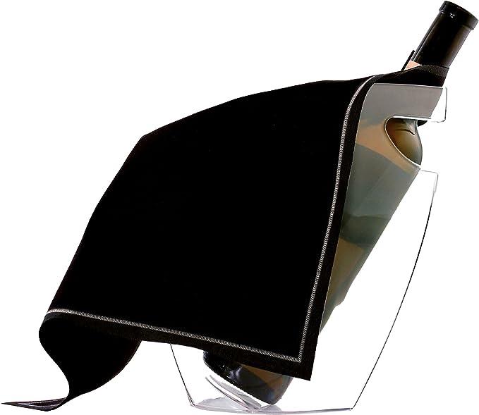 Vin Bouquet FIA 199 Support pour Seau /à gla/çons 41x10x11,5 cm Acier Inoxydable Argent