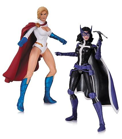 amazon com dc collectibles dc comics new 52 powergirl and huntress