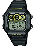 Casio Collection Men's Digital Watch with Resin Strap – AE-1300WH