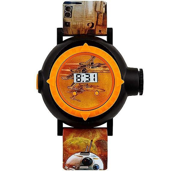 Star Wars SWM3116 - Reloj digital para niños con diseño de estrella de la guerra (