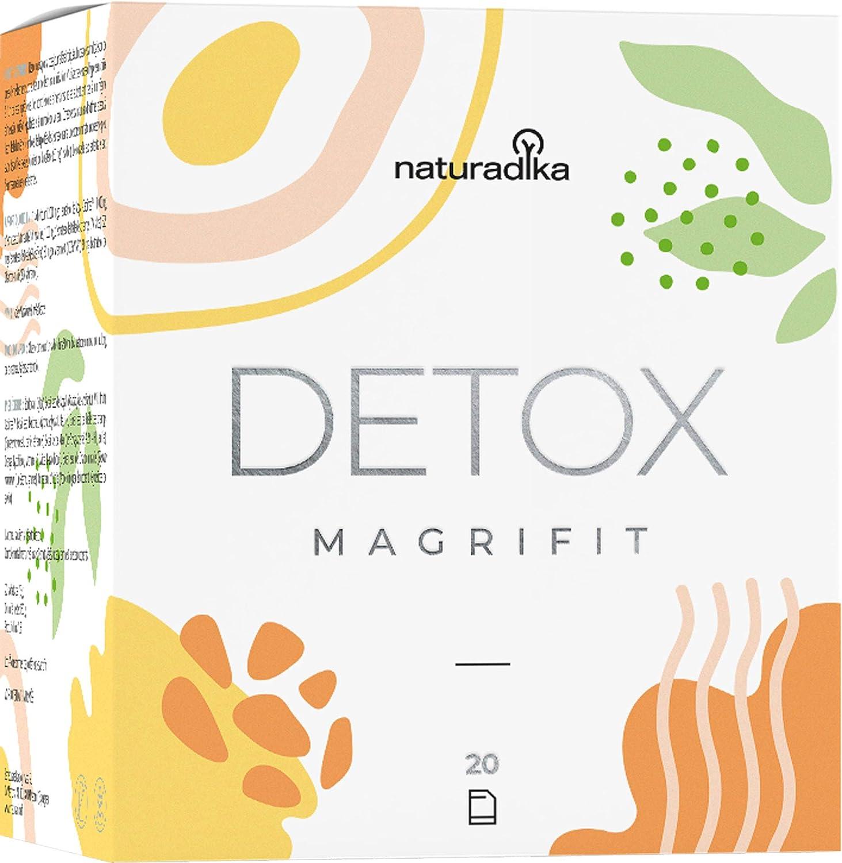 MAGRIFIT DETOX | Favorece el efecto detox adelgazante potente para dietas de adelgazar rapido y efectivo mujer con Cola de Caballo, Cardo Mariano y Cactinea™ | Ayuda con la retencion de liquidos