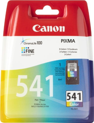 CL-541 ink colour blister w/o security by Canon