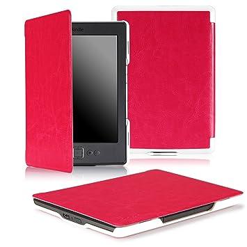 Amazon.com: MoKo Slim Carcasa para Amazon Kindle 4.: Kindle ...