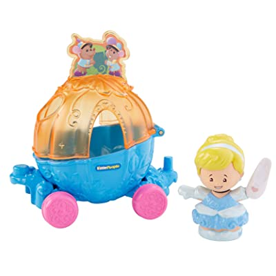 Fisher-Price Little People Disney Princess, Parade Cinderella & Pals Float: Toys & Games