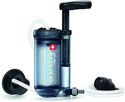 Katadyn Hiker Pro Transparent Water Filter
