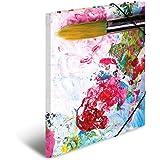 Motiv Abstract rosegold gl/änzend Herma 19318 Sammelmappe DIN A4 Karton Eckspanner 1 Zeichenmappe