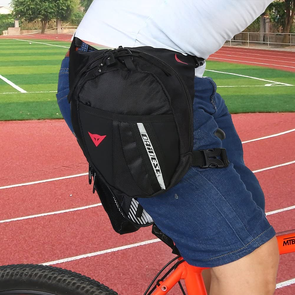 Outdoor Portable Waist Pack Sports Travel Leg Drop Bag for Cycling Motorcycle Men Waist Pack