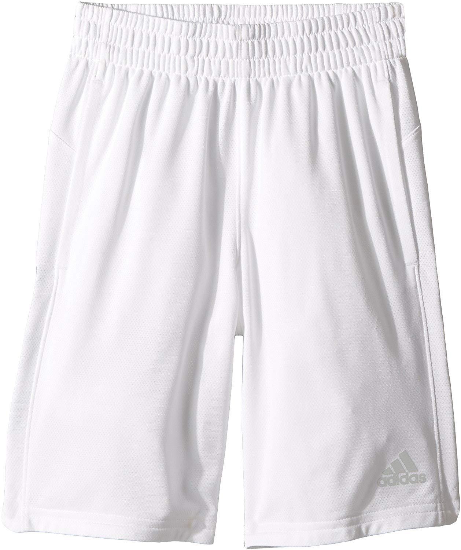Adidas Kids Boy's Sport Shorts (Big Kids) White X-Large