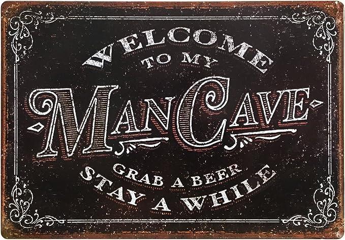 Man Cave Sign  Man Cave Decor Man Cave Sign  Man Cave Wall Decor  Man Cave  Man Cave Art  Man Cave Wall Art  Man Cave Stuff  Rustic