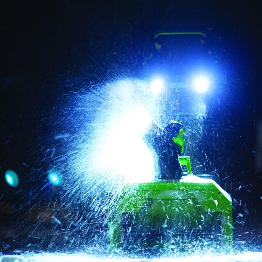 greenworks snow blower 40v reviews