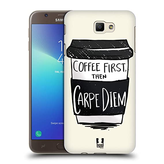 Amazoncom Head Case Designs First Coffee Fix Hard Back Case For