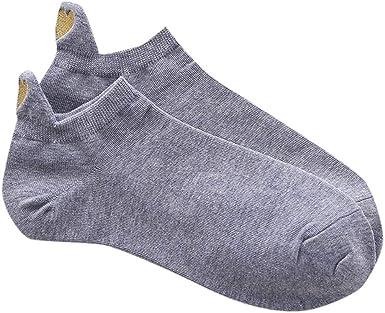 Sylar Calcetines Tobilleros Mujer Color Sólido Calcetines Cortos Invisibles Para Hombre Y Mujer Unisex Calcetines De Algodón Resistentes Y Suaves Antideslizantes Respirable Calcetines (1 Par): Amazon.es: Ropa y accesorios