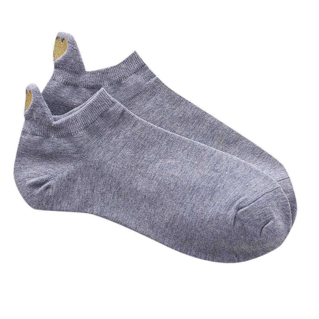 Calcetín Moda Casual para Mujer Calcetines De Algodón Irregulares ...