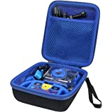 Aenllosi Hard Carrying Case for Ourlife Kids Selfie Action Child Cameras (Blue)