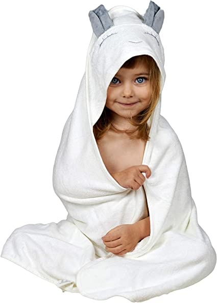 Boy Bunny embroidered bath towel by Jiggle /& Giggle100/% Cotton60 x 120cm