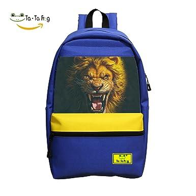 amazon com asian lion student backpack school bag cool boys girls