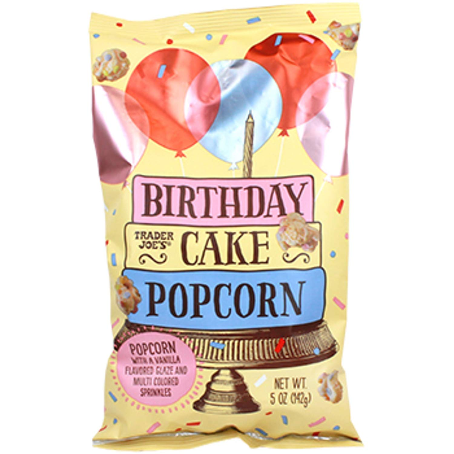 Prime Amazon Com Birthday Cake Popcorn By Tj Funny Birthday Cards Online Fluifree Goldxyz