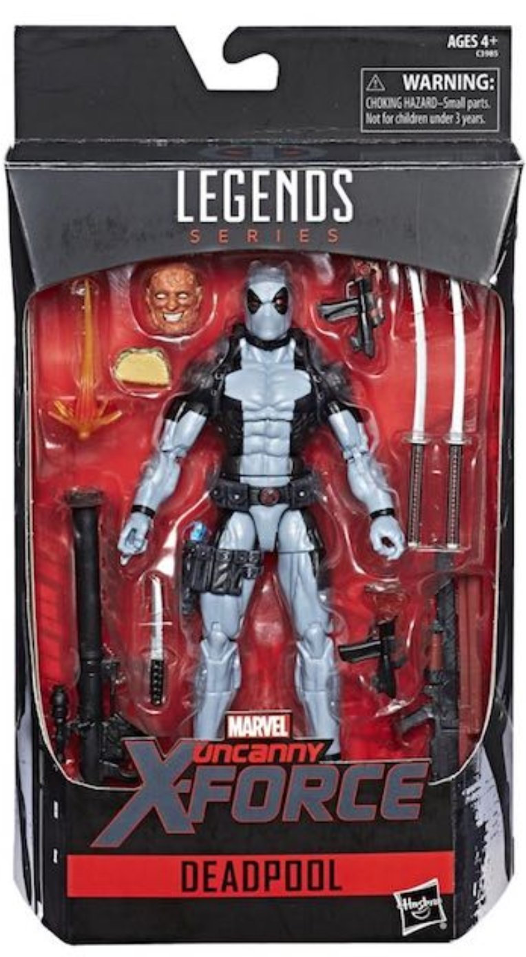 Marvel Legends Uncanny X-Force Deadpool Hascon Exclusive Hasbro