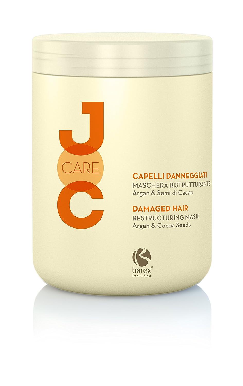 Joc Care Maschera Ristrutturante Capelli Danneggiati Argan & Semi di Cacao 1000ml Barex
