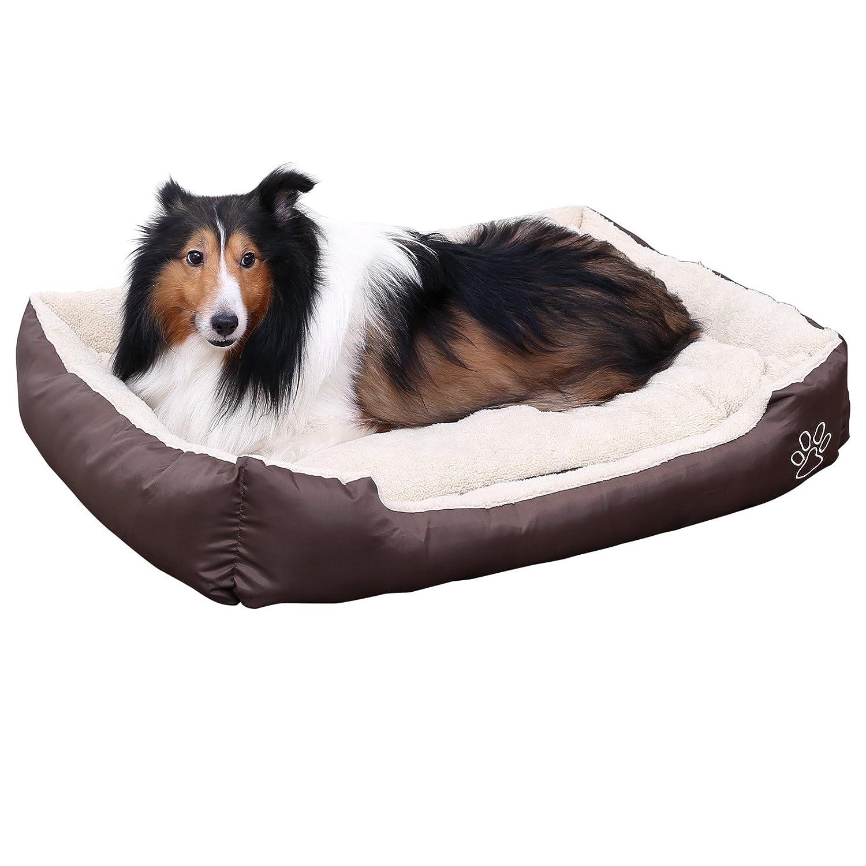 Songmics Cómodo Casa para mascotas Cama para perros Perrera Gato Del Perro