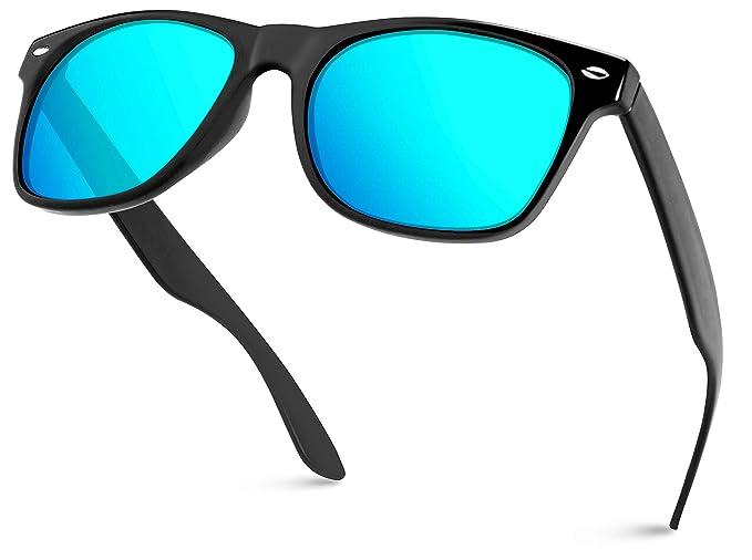 WearMe Pro - Gafas de sol Revo grandes con montura de carey ...