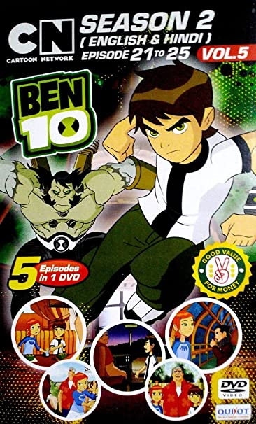 Amazon in: Buy Ben 10 Season 2[Eng & Hin]Episode 21-25 vol 5