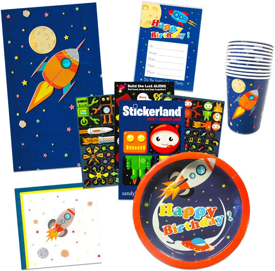 Amazon.com: Suministros para fiesta de espacio exterior ...