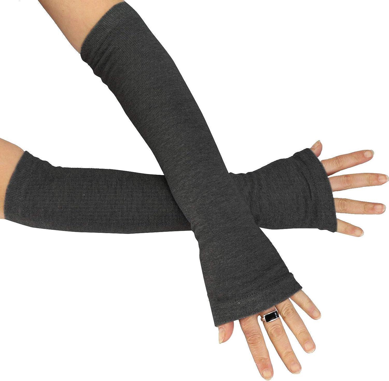 Caripe Kombi fingerlose Armstulpen Damen Beinstulpen Handschuhe Handstulpen Stulpen lang