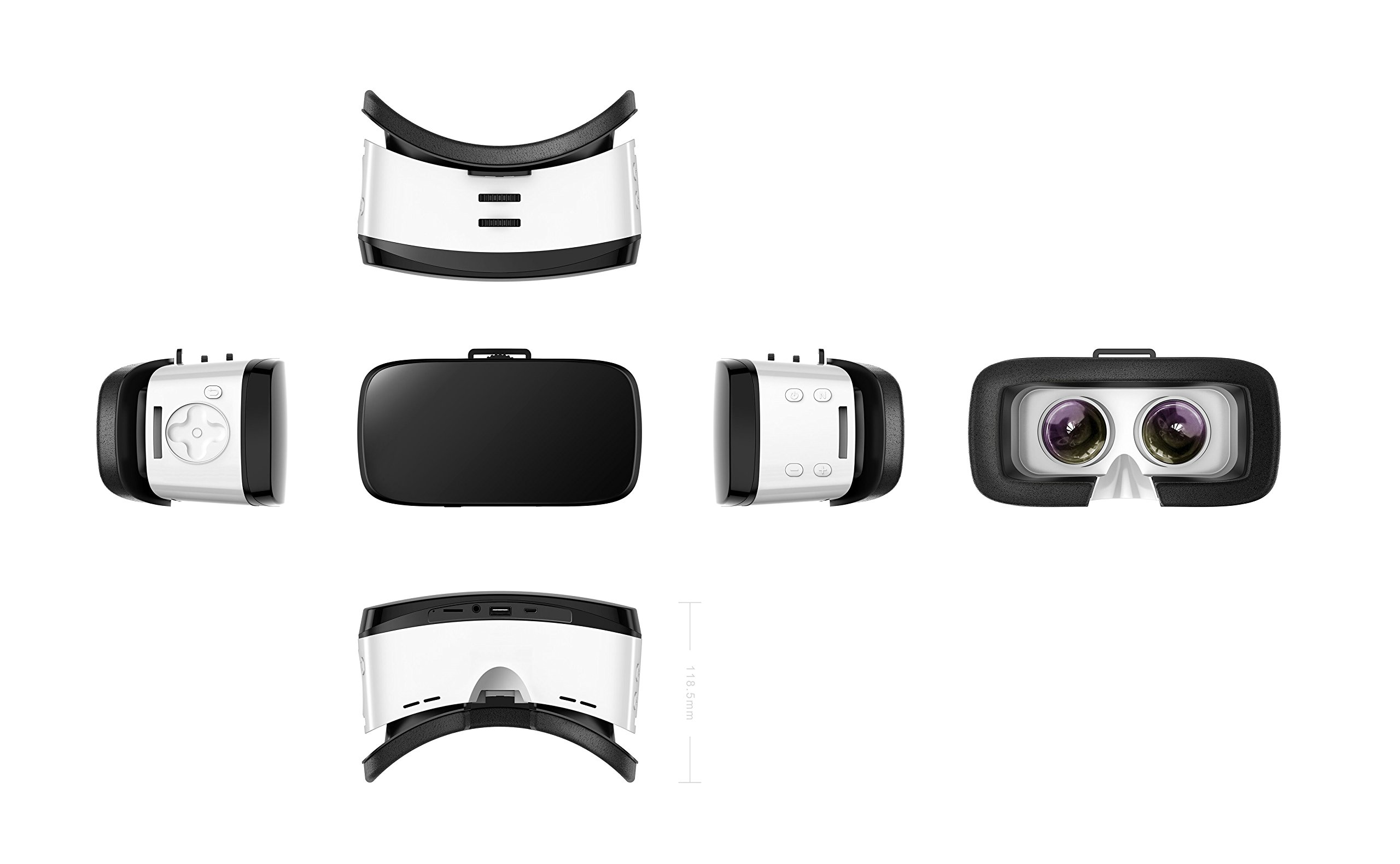 TechComm Orpheus 32GB 3D VR Headset with Bluetooth WiFi Mirror Structure by TechComm
