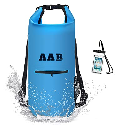 Heavy Duty Dry Bag Backpack with Phone Case Waterproof Floating Dry Sack for