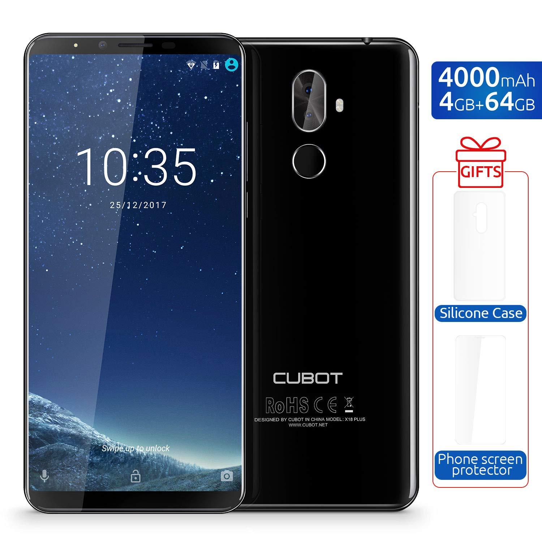 CUBOT X18 Plus Smartphone Libre 4G Dual Sim 5.99 Android 8.0 ...