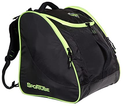 Amazon.com  Sportube Freerider Boot Bag, Black Green  Sports   Outdoors 920510af46