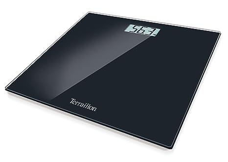 Terraillon TP 1000 - Báscula de baño, 150 kg, 100 g, color negro