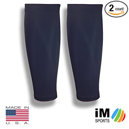 93882051 iM Sports GAZELLE Running Compression Calf Sleeves + Reduce Injury + UV  Protection + Made in