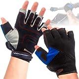 WindRider Pro Sailing Gloves - 3/4 or Full Finger - Padded Palm and Amara Reinforcement - Mesh Back for Comfort…