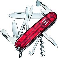 Victorinox 1.3703.Tb1, Canivete Climber 14F, Medio, Vermelho Translucido