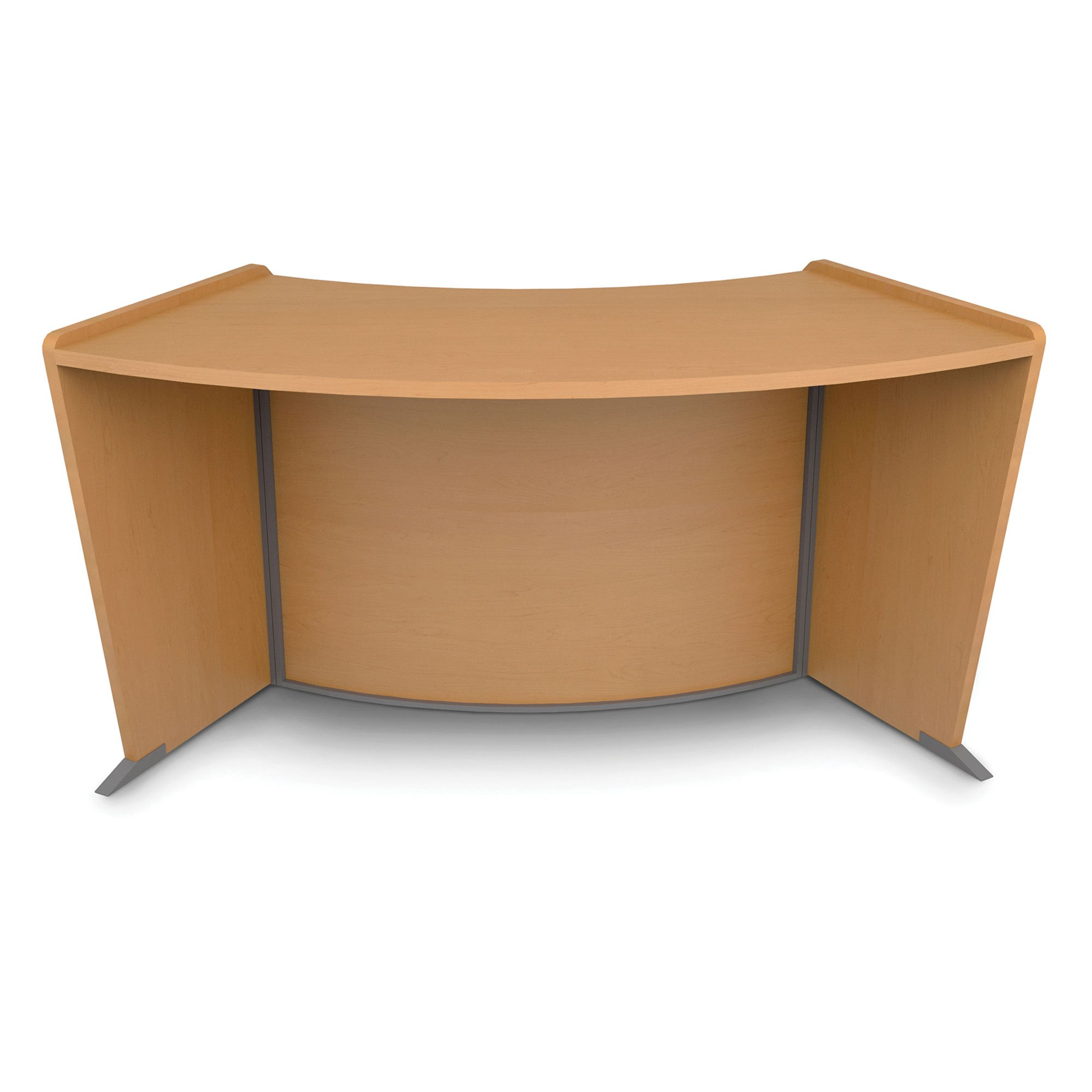 ADA/Wheelchair Access Reception Desk, Maple by OFM