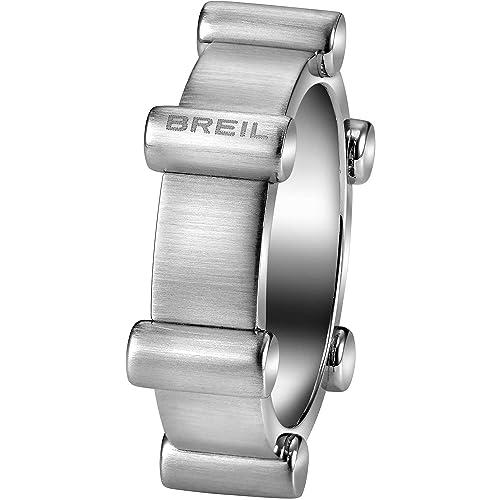 gamma esclusiva scegli autentico massima qualità anello uomo gioielli Breil Bullet misura 21 offerta trendy ...