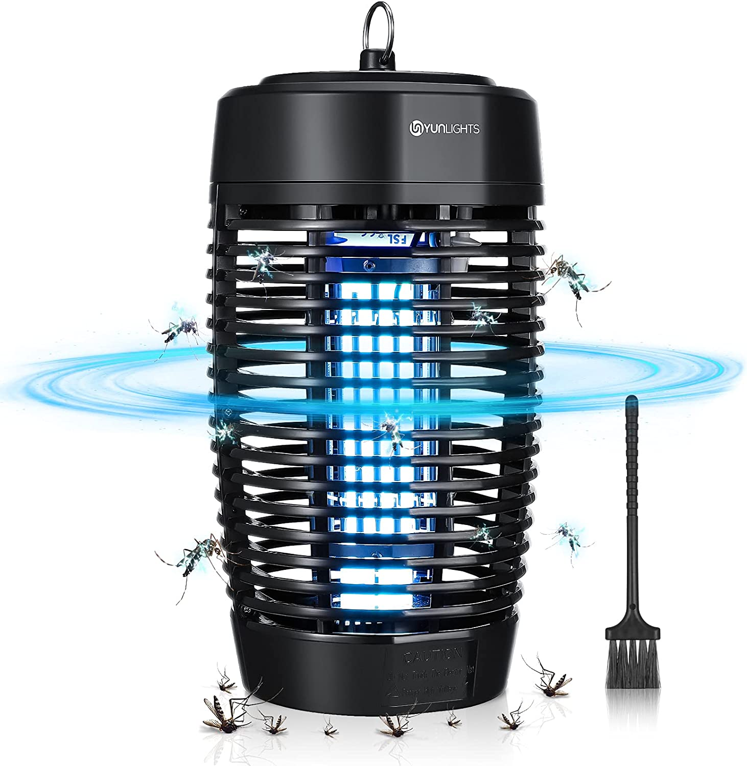 USB Solar Power Indoor Outdoor Insects Mosquito Killer Led UV Light Zapper