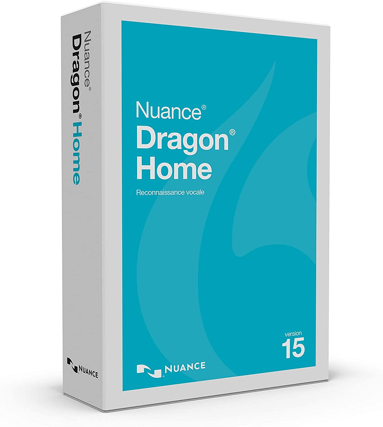 Dragon Home 15, French, Dictate Documents and Control your PC – all by Voice, [PC Disc]