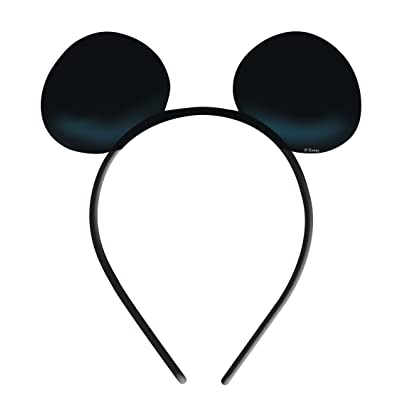Amscan 994158 - Accessoire - Déguisement - Oreilles Mickey Mouse X4